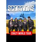SCORPIONS. CRAZY WORLD TOUR